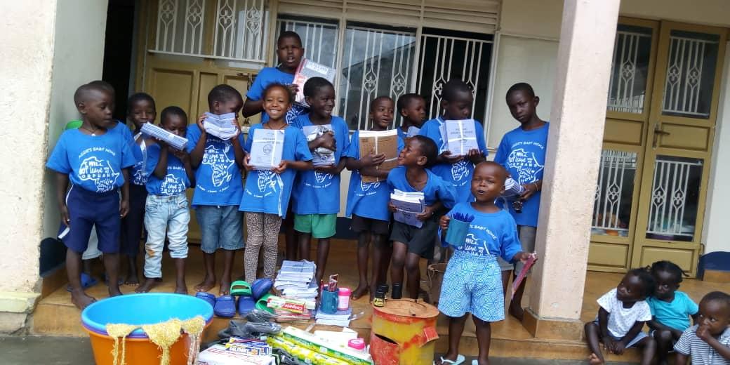 Blick auf die Spenden