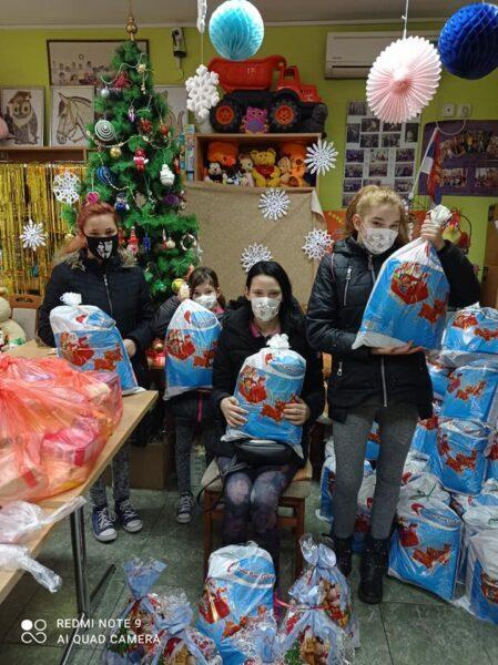 Weihnachtsfeier bei NADA in Serbien