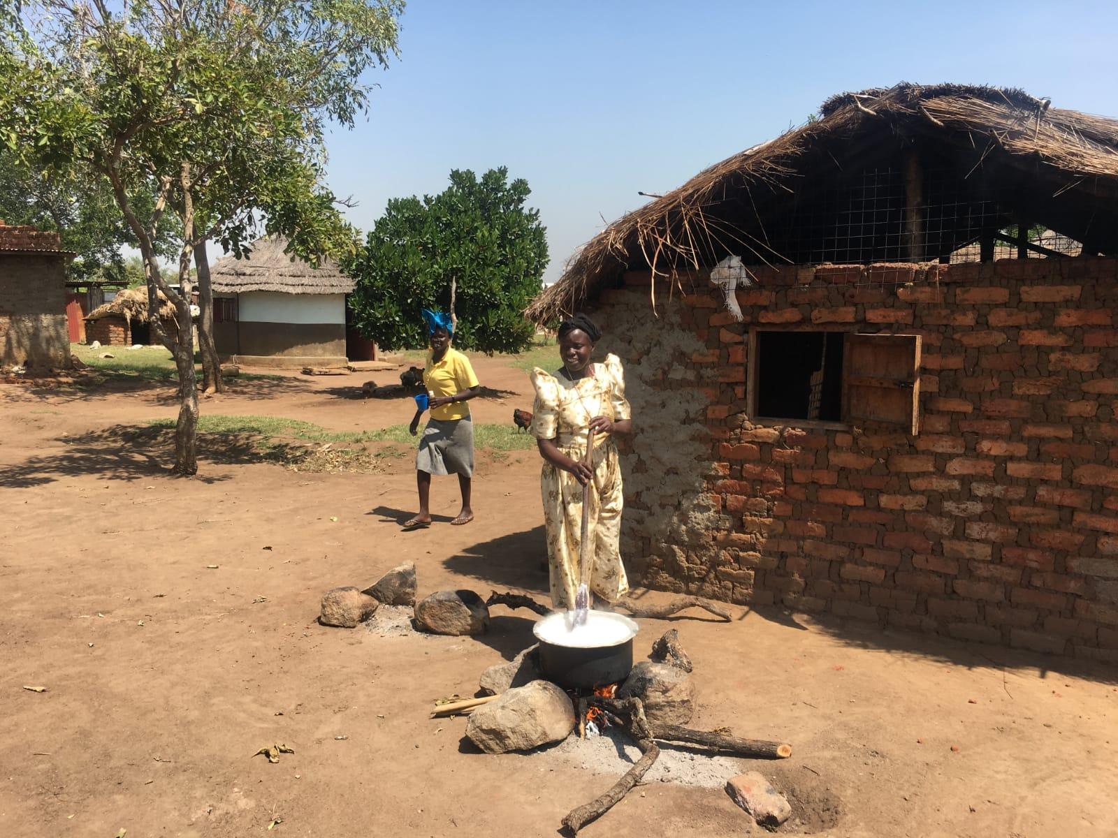 Im Norden von Uganda