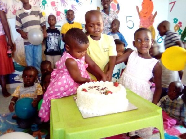 Osterfest in Uganda