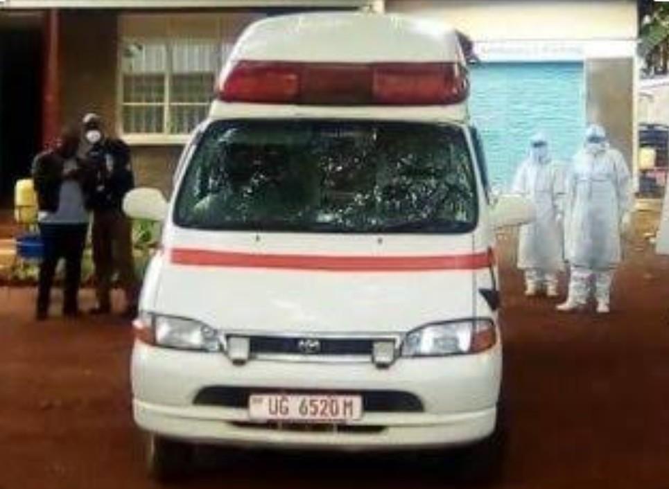 Krankenwagen in Uganda